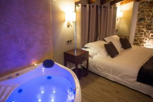 Hoteles con jacuzzi en el pais vasco