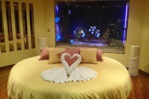 hotel con jacuzzi en la habitación en pontevedra