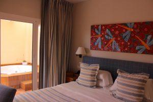 Hoteles con jacuzzi en la habitación en Almería
