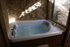 Hoteles con jacuzzi en la habitación en Extremadura