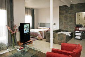 hotel con jacuzzi privado en ávila