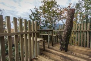 cabañas en los árboles en Galicia con bañera de hidromasaje