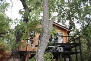 casas en los árboles en extremadura