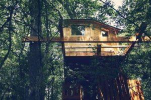 cabañas del bosque en Navarra