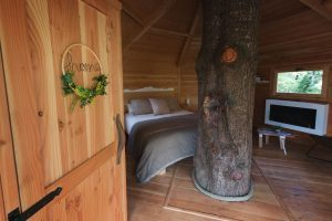 cabañas en los árboles en catalunya