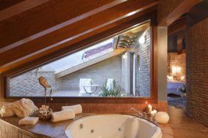 Casa rural con jacuzzi privado en Álava