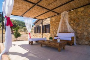 Casa rural con patio chill out en badajoz