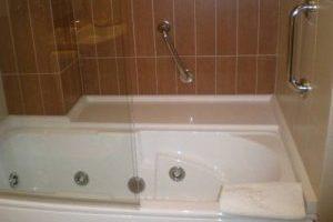 Bañera de hidromasaje en hotel de lugo