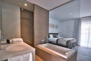 Hotel playero con bañera de hidromasaje privada en Tenerife