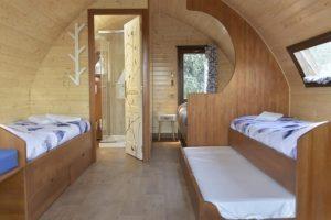 cabaña para cinco personas madrid