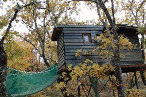 cabaña del árbol de extremadura