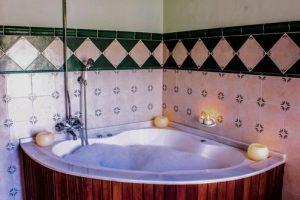 casa rural con bañera de hidromasaje en el campo Valenciano