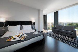 Vanguardista hotel con bañera de hidromasaje privada en el centro de Córdoba
