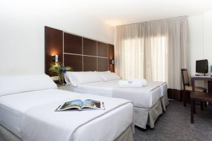 Cómodo hotel con jacuzzi en Granada