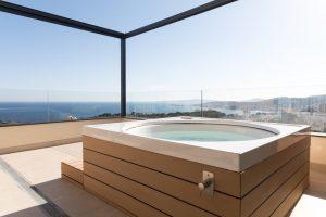 Excelente hotel de playa con bañera de hidromasaje privada en Mallorca