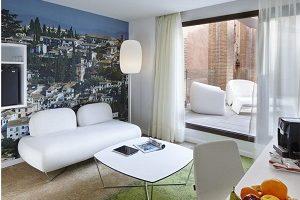 Hoteles con jacuzzi en la habitacion en granada