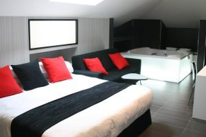 Hotel con bañera de hidromasaje en Madrid