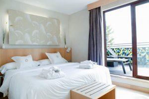 Hotel de lujo con jacuzzi privado en Madrid