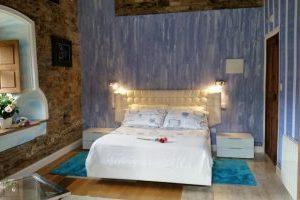 Hotel con jacuzzi en la habitación en Lugo