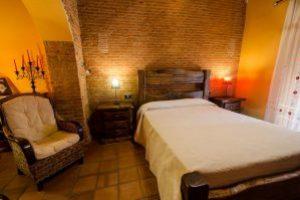 Habitación con jacuzzi privado en Badajoz