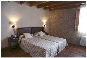 simpático hotel con bañera de hidromasaje en la Serranía de Cuenca