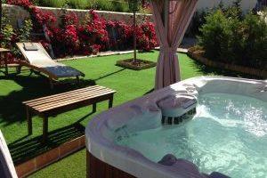 increíble hotel con jacuzzi en Cuenca