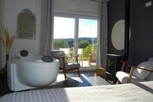 Hotel Spa con jacuzzi en la habitación en Alicante