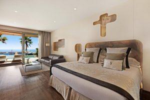 hermoso hotel con bañera de hidromasaje privada en Mallorca