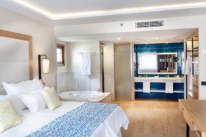 Exclusivo hotel con bañera de hidromasaje privada en Tenerife
