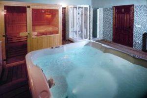 Pintoresco hotel con bañera de hidromasaje en la Serranía de Cuenca
