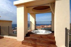 Lujoso hotel con jacuzzi privado en Tenerife